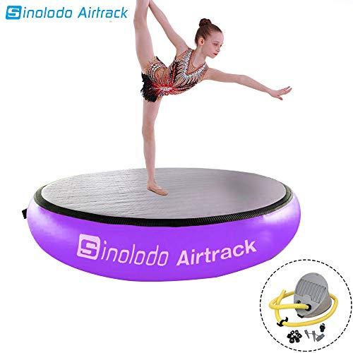 Airtrack Airspot Round Air Floor Air Track Gymnatsics Mat for Gym Training Dia 0.7m /1m/ 1.4m