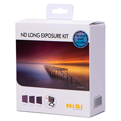 NiSi ND Long Exposure Kit 100x100mm, Featuring IR ND8(3-stop), IR ND64(6-stop) and IR ND1000(10-stop)