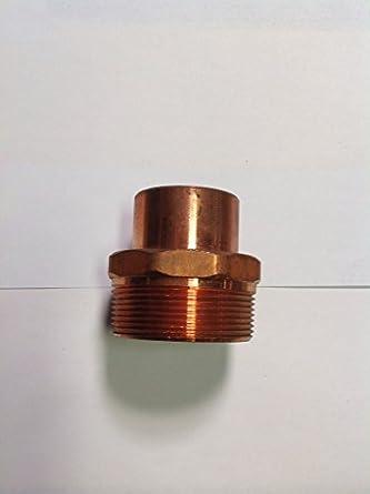 W1178 Mueller Copper Reducing Adapter 1-5/8