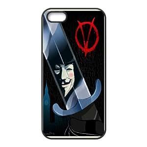 [StephenRomo] For Apple Iphone 5 5S -V For Vendetta PHONE CASE 1