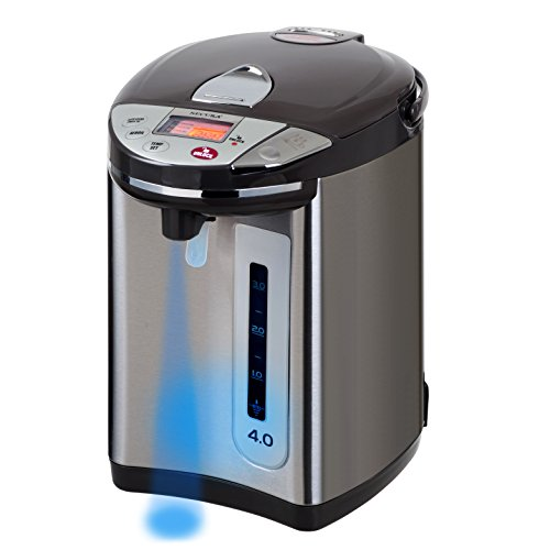 Secura Electric Water Boiler and Warmer LCD Digital Control w/ Night light, 18/10 Stainless Steel Interior (4 Quart) (Electric Hot Water Thermos compare prices)