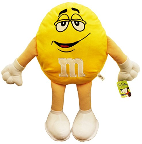M&M's 20 Inch Plush Figure Dolls (Yellow)