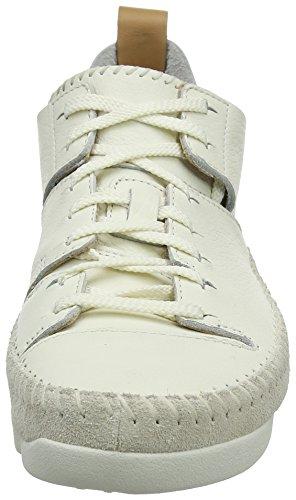 Trigenic Mujer White Clarks Blanco Flex Zapatillas AwTx6qS8