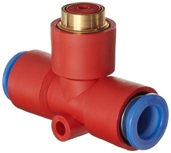 SMC KEB10 Residual Pressure Relief Valve with Push Button