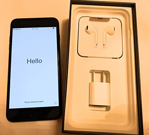 Apple iPhone 7 Plus Unlocked GSM Cell Phone 128 GB - US Version (Jet Black)