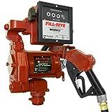 """Fill-Rite FR711VA 115V AC High Flow Pump, 1"""" Hi Flow Automatic Nozzle, 901 Meter"""