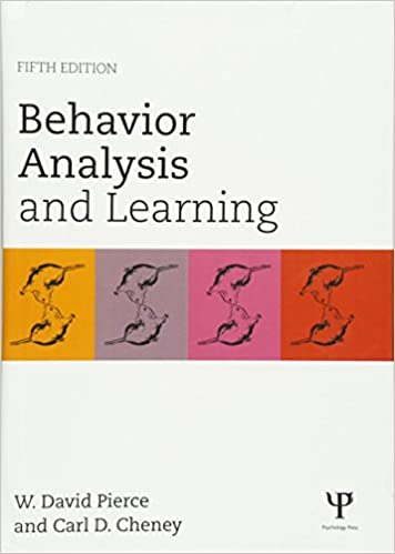 AmazonCom Behavior Analysis And Learning Fifth Edition