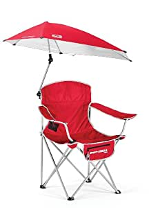 Amazon Com Sport Brella Chair Red Sun Shelters