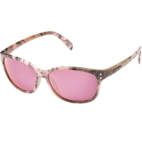 Suncloud Flutter Polarized Sunglasses, Pink Camo Frame, Pink - Sunglasses Costa Womens Pink