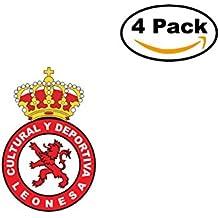 Cultural y Deportiva Leonesa Spain Football Club Soccer FC 4 Sticker Decal 4X4