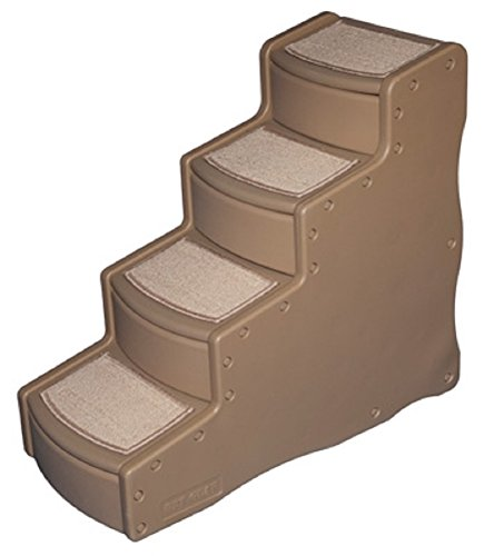 Pet Gear Dog Stairs Tan Easy Step IV Pet Steps