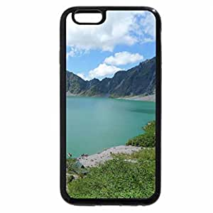 iPhone 6S / iPhone 6 Case (Black) Mount Pinatubo Crater