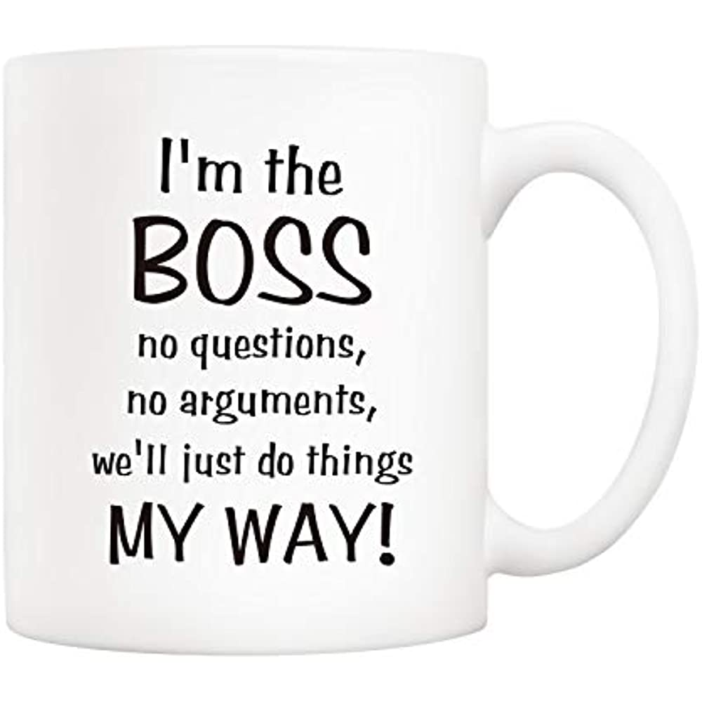 5Aup Bosses Day Funny Office Coffee Mug Christmas Gifts