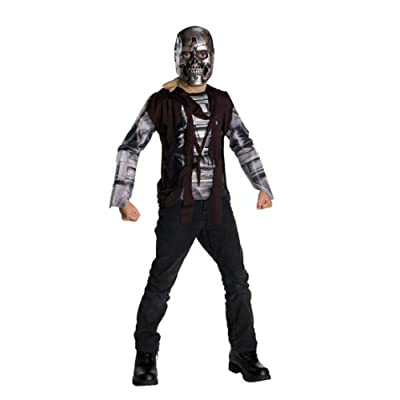 Terminator Salvation Movie Child's Costume T600, Small: Toys & Games