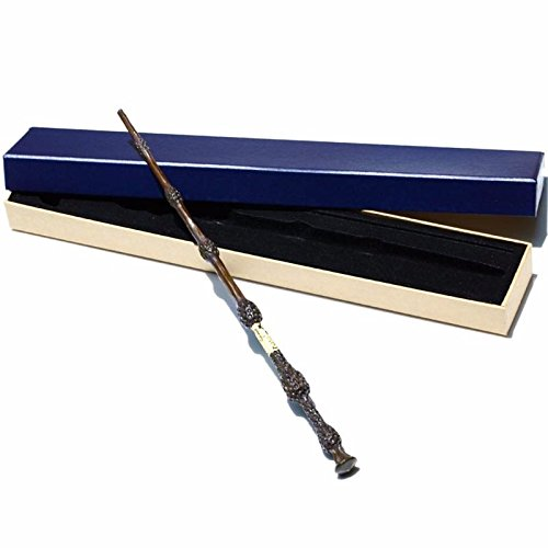 HOLIDAYFUN Handcrafted Magic Wand, Handcarved, Black Wand, Professor Wand, Wizard Sorcerer's Wand (No.4)