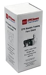 CPR Practice Manikin Face Shields (50 per box)