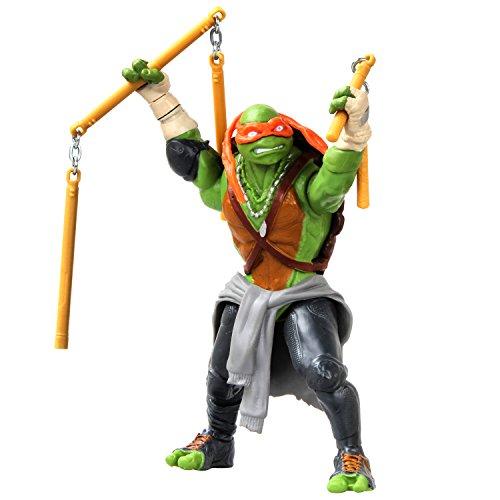 Teenage Mutant Ninja Turtle Movie Deluxe Michelangelo Figure