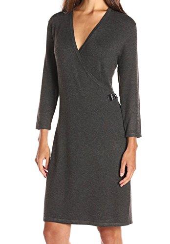 Mock Wrap Dress - 9