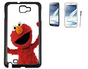 Hard case Samsung Galaxy Note 2 with printed design- Elmo by lolosakes