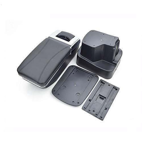 QCFSXWDDX F/ür Hyundai i10 Armlehne Auto Mittelkonsole Aufbewahrungsbox Armlehne Auto-Styling Dekoration Zubeh/ör Teile