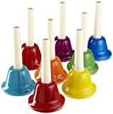 : Rhythm Band 8-Note Handbell Set