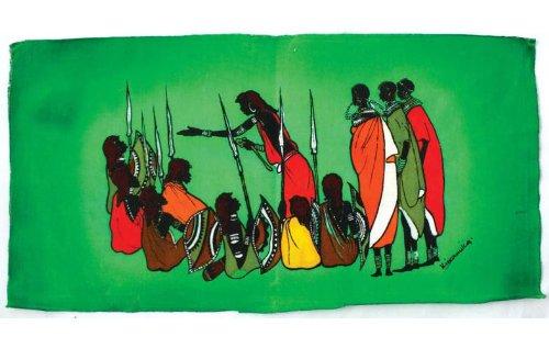 African Batik Art - 2