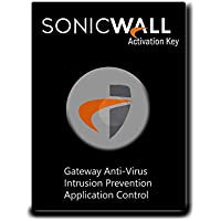 SonicWall | 01-SSC-4844 | GATEWAY ANTI-MALWARE, INTRUSION PREVENTION AND APPLICATION CONTROL FOR THE TZ 105 SERIES (1 YR)