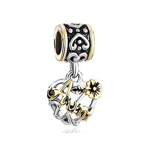 CharmSStory Flower Silver Plated Bracelets