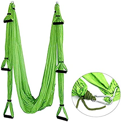 EverKing Aerial Yoga Swing Ultra Strong Antigravity Yoga Hammock//Sling//Inversion Tool for Air Yoga Inversion Exercises