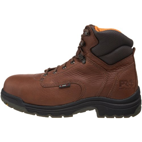 Men's 6 inch Timberland Pro TiTAN Safety Toe Boots Coffee, Coffee, 10 2E by Timberland PRO (Image #5)