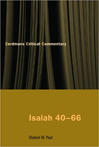 Isaiah 40-66: A Commentary (The Eerdmans Critical Commentary)