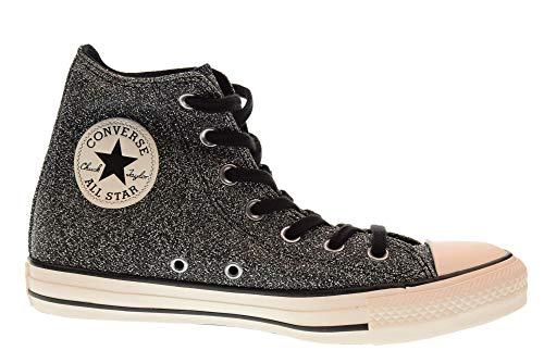 white Noir black Sneakers Basses Converse Hi Chuck Femme 001 black Ctas Taylor q7RzUf