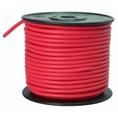Southwire 55672123 Primary Wire, 10-Gauge Bulk Spool, 100-Feet, Red ()
