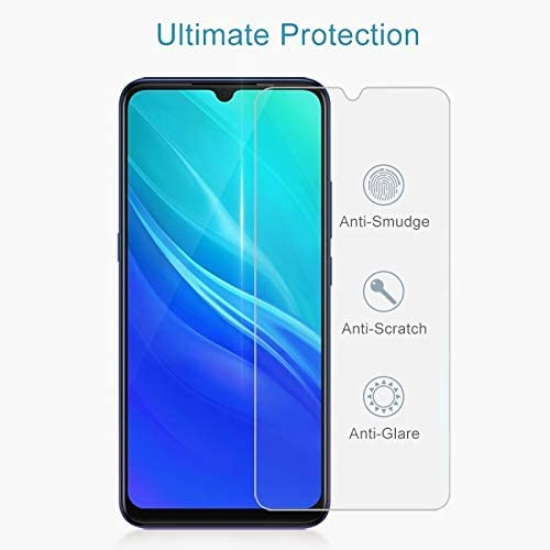 CAIFENG Tempered Glass Film Screen Protector 50 PCS 0.26mm 9H 2.5D Tempered Glass Film for Vivo IQOO Pro Anti-Scratch
