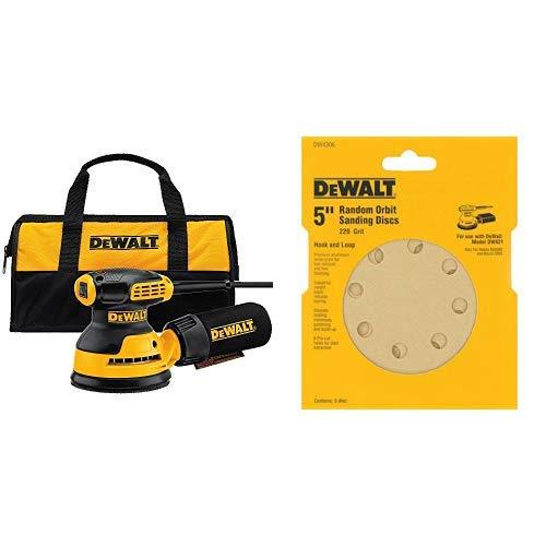 DEWALT DWE6421K Random Orbit Sander Kit, 5'