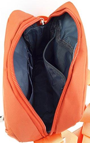 portatutto CONTRO Mattone VENTO Uomo Borsello Orange 3 Borse organizer Tracolla RaWnRP