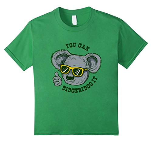 Kids You Can Didgeridoo It T-Shirt - Australia Kolala Australian 4 - Kid Australian Sunglasses