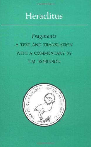 Heraclitus-Fragments-Phoenix-Presocractic-Series