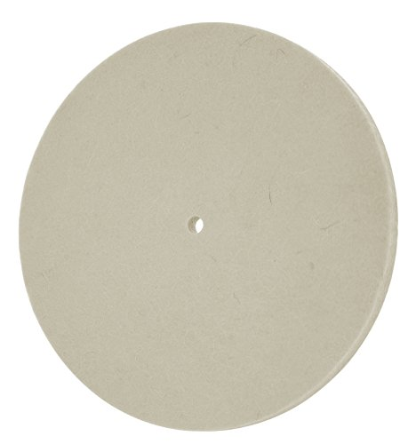 - Drixet 6 Inch White Wool Polishing Wheel - Polishing Disc Pad to Polish Martials Such as Nonferrous Metals (Copper, Sheet Metal, Aluminium, Brass & Plastics)