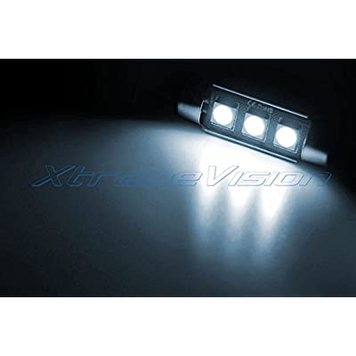 Xtremevision Interior LED for Ford Flex 2009-2015 (8 Pieces) Cool White Interior LED Kit + Installation Tool: Automotive