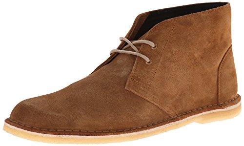 Clarks Men's Jink Desert Chukka Boot, Cola Suede, 10 M US