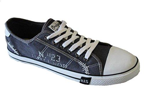 H.I.S 151-008 Herren Sneakers Grey Jeans