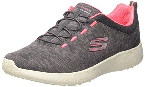 Skechers Burst-City Heat, Zapatillas para Mujer Gris (CCL)