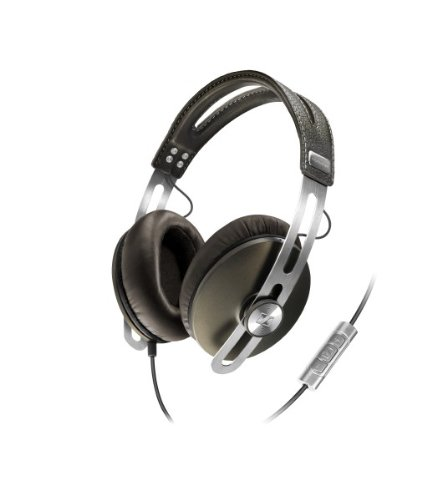 Sennheiser Momentum 1.0 Closed Circumaural Over-Ear Headphone with Smart Remote - Brown