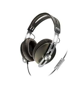 Sennheiser Momentum OVER-EAR - Auriculares de diadema cerrados (con micrófono, control remoto integrado), marrón