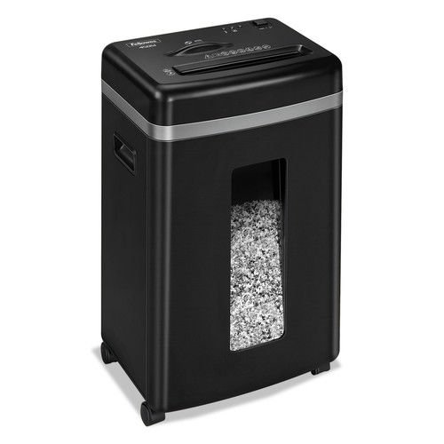 Fellowes Powershred 455Ms 9-Sheet Micro-Cut Paper and Credit Card Shredder with Auto Reverse (4689401) by Fellowes