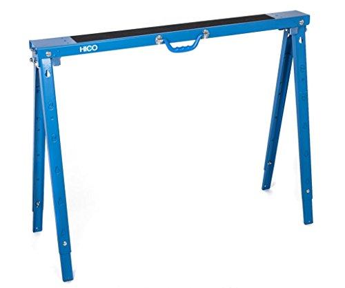 HICO USH1700 Folding Metal Sawhorse Single - Height Adjustable