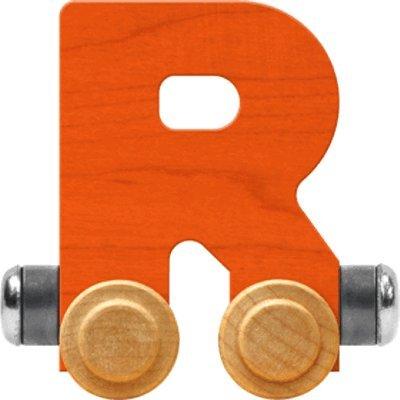 - NameTrain Bright Letter Car R - Made in USA (Orange)