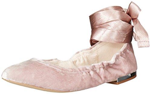 Sam Edelman Fallon Giro Appartamenti In Pelle Rosa Velluto