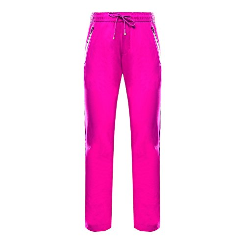 Pulsante Rosa Uomini Pantaloni w Rossa Grandi Di Tasca Sci Dyf Dei Cerniera Cintura Giacche Dimensioni Fym Donne nX6BqOa